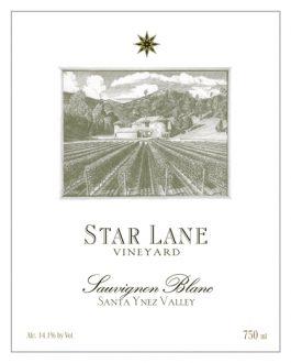Star Lane Sauvignon Blanc Happy Canyon 2014