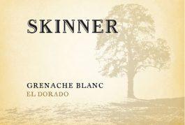 Skinner Vineyards Grenache Blanc El Dorado 2016