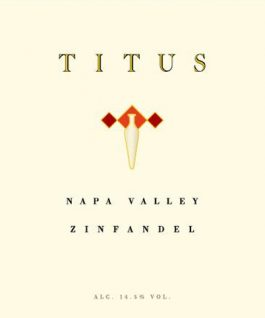 Titus Vineyards Zinfandel Napa 2013