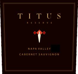 Titus Vineyards Cabernet Sauvignon Reserve Napa