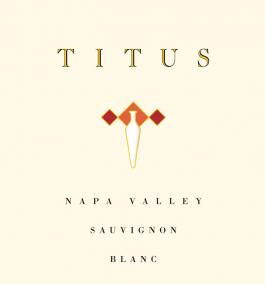 Titus Vineyards Sauvignon Blanc Napa Valley 2014
