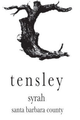 Tensley Syrah Santa Barbara County