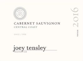 Joey Tensley Cabernet Sauvignon Central Coast
