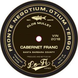 Lo-Fi Cabernet Franc Clos Mullet Vineyard Santa Barbara Valley