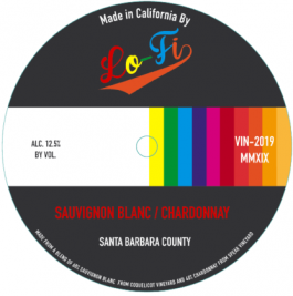 Lo-Fi Wines Sauvignon Blanc/Chardonnay Santa Barbara County