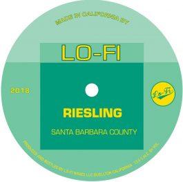 Lo-Fi Wines Riesling Santa Barbara County