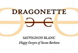 Dragonette Cellars Sauvignon Blanc Happy Canyon 2016
