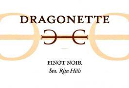Dragonette Cellars Pinot Noir Santa Rita Hills 2015