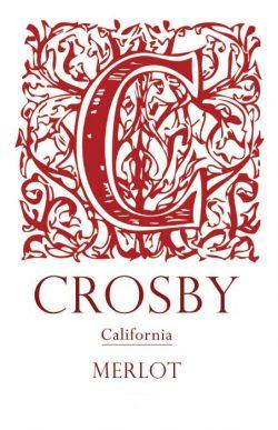Crosby Merlot California 2014