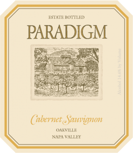 Paradigm Winery Estate Cabernet Sauvignon Oakville 2011