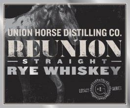 Reunion Straight Rye Whiskey