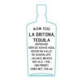 La Gritona 100% de Agave Tequila Reposado