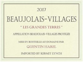 Quentin Harel Beaujolais Villages