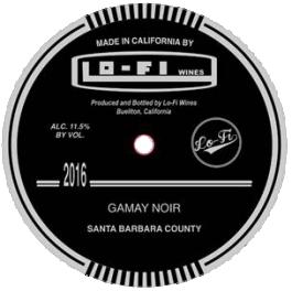 Lo-Fi Gamay Noir Santa Barbara County