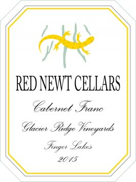 Red Newt Cabernet Franc Glacier Ridge Vineyard