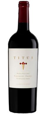Titus Vineyards Cabernet Franc Napa