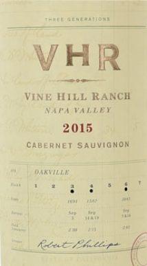 Vine Hill Ranch Cabernet Sauvignon Oakville