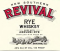 New Southern Revival Rye Whiskey